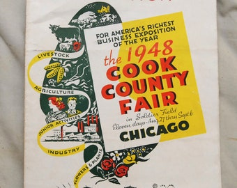 1948 Cook County Fair Reservation Invitation, Chicago