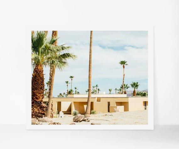 California Mid Century Modern: Palm Springs Print Mid Century Modern Home Decor