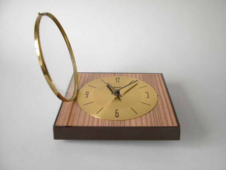 Vintage wall clock west german clock heges kienzle office etsy