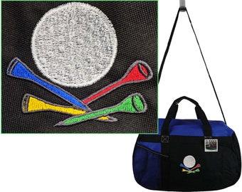 G Clef Gemline Sequel Custom Embroidered Sport Duffel Bag Monogram Free Name Band Musician Choir
