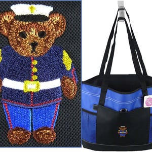 Free Name Don/'t Get Your Tinsel In A Tangle Funny Christmas Bag Gemline Select Zippered Tote Custom Embroidered