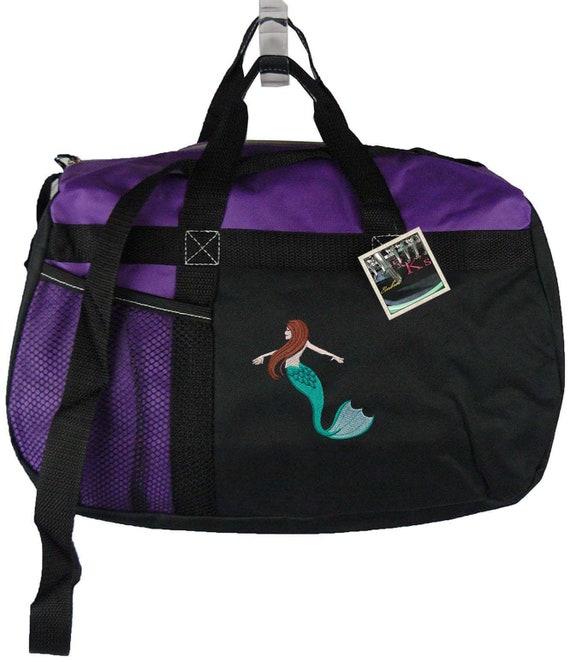 Mermaid Gemline Sequel Sport Duffel Overnight Travel Bag  67d96e7677516