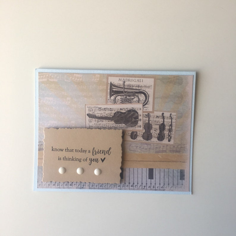 Know That Today a Friend is Thinking of You Greeting Card