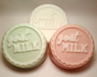 Goat Milk & Shea Shave Soap