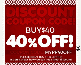 best sneakers 6ab45 cf8d2 DISCOUNT COUPON CODES - 40% Off - Sale coupon code. Save Money on Multiple  Purchases. Please do not purchase this listing