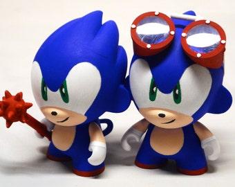 Sonic Munny 4 pouces jouet personnalisé