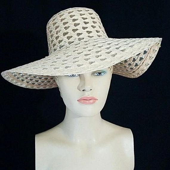Vintage 70s Floppy Sun Hat