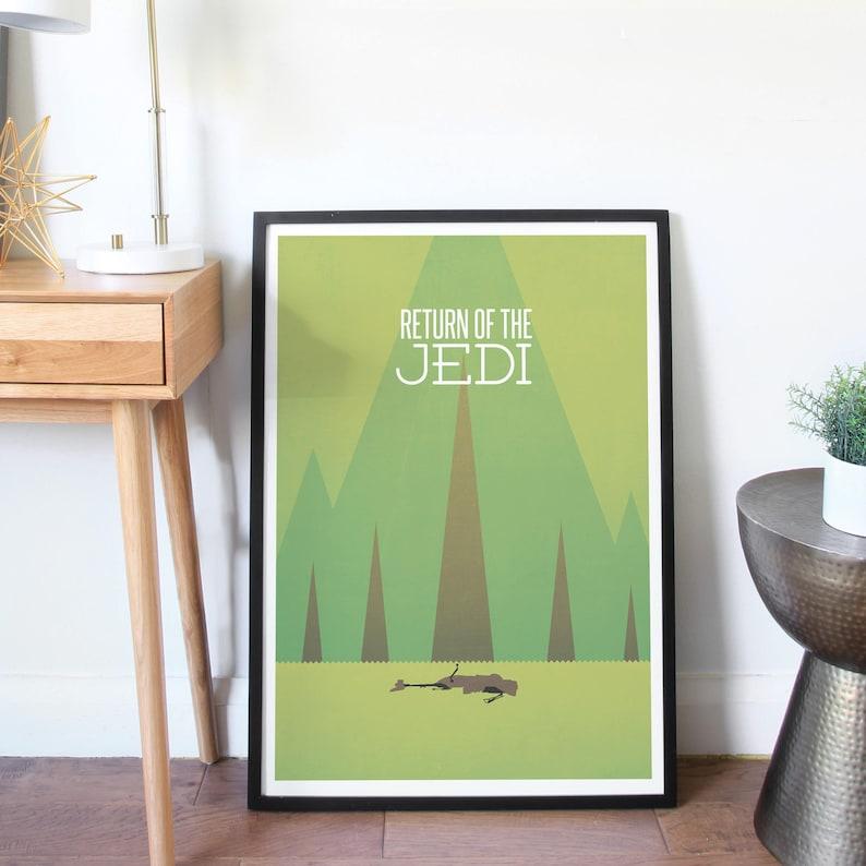 Star Wars Minimalist Poster  Return of the Jedi image 0