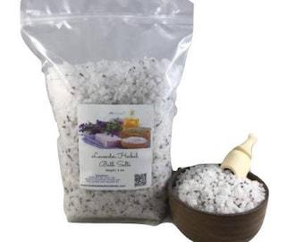 1lb Herbal / Botanical Bath Salts ~All Natural~ (Choose From 10 Herbal Blends)