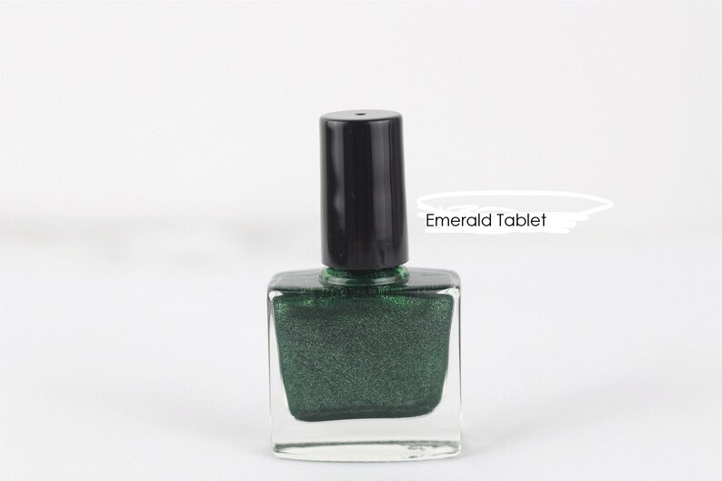 10 Free - NAIL POLISH LACQUER - Vegan, Natural, Halal, Wudhu-Friendly,  Water Permeable, Cruelty-Free and Hand Poured