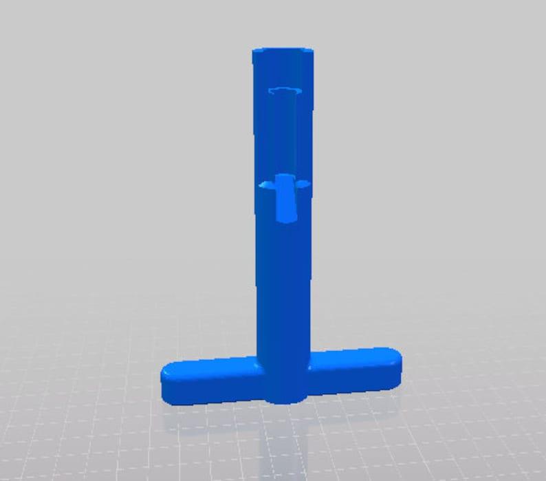 STL file for T handle bullet node pusher tool | 3 design files