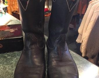 bf1e2b7d95d Boulet boots | Etsy