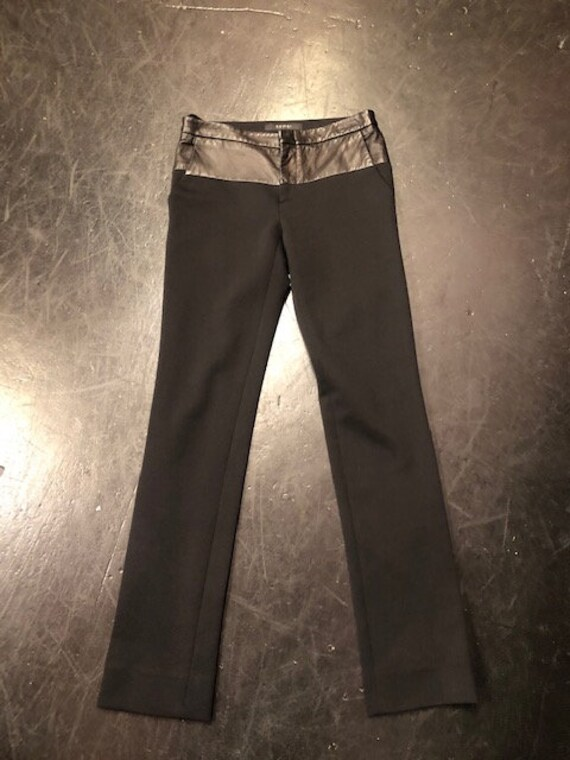 90's Gucci Black with Leather Pants