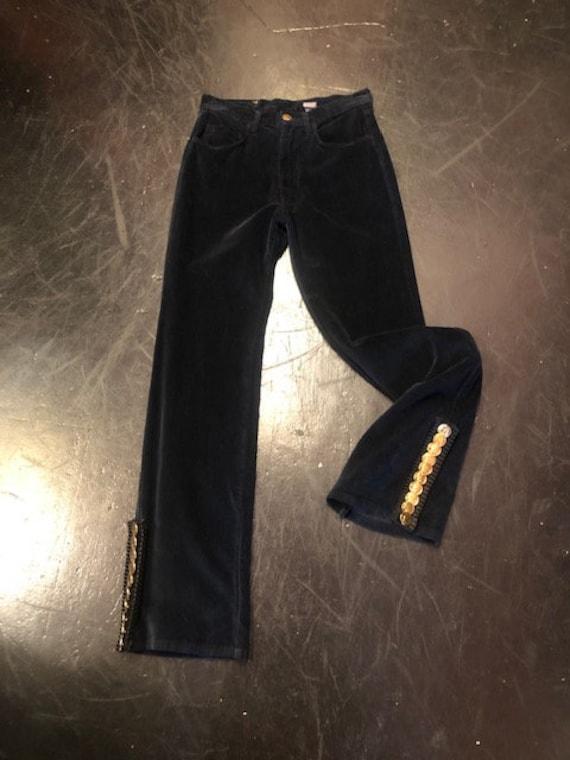 Kenzo high waist Jeans Velvet Flared