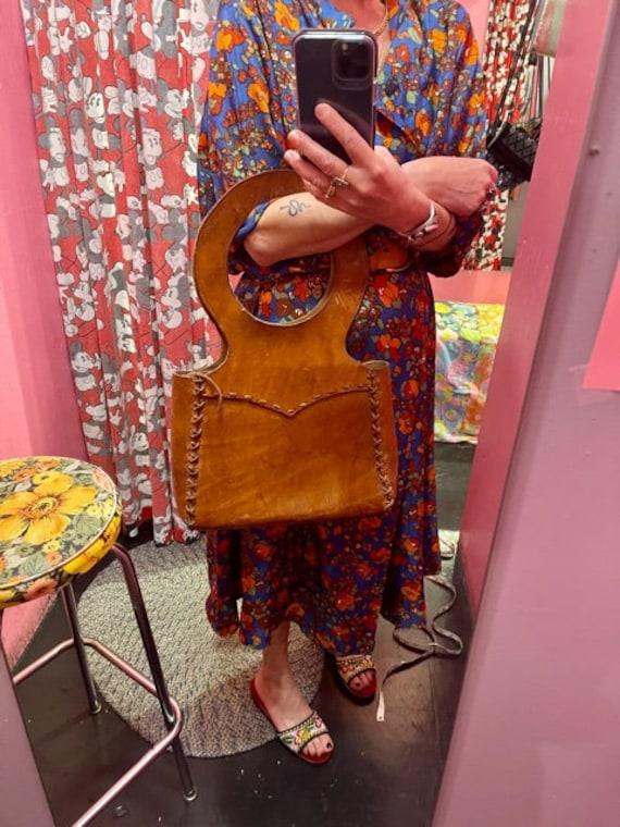 1970's saddle Bag