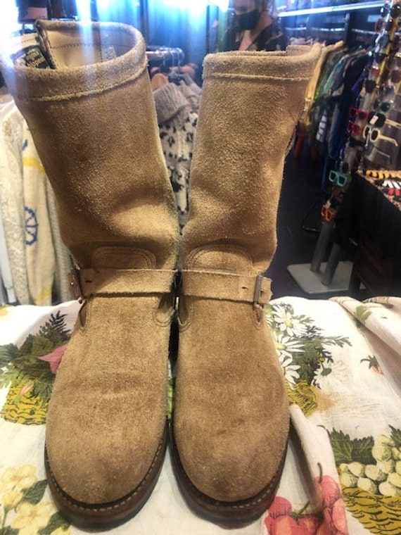 Chippewa Sand Colour engineer Boots