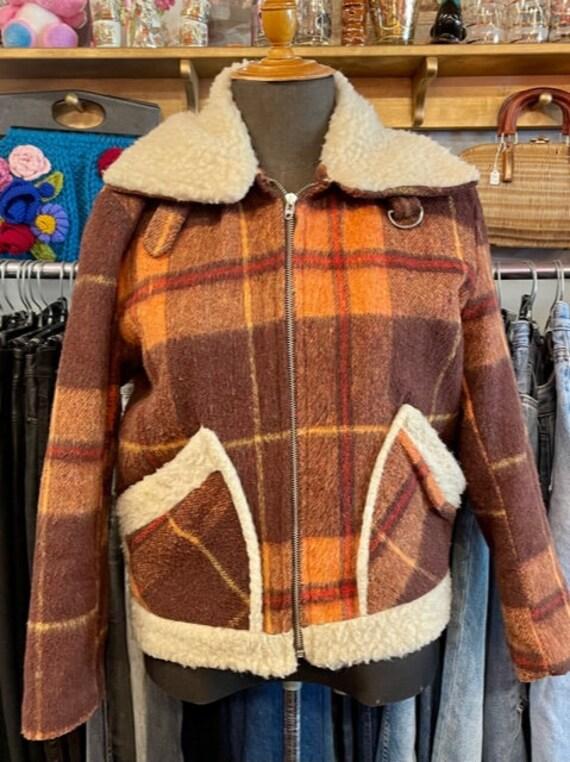Woodwards Plaid 70's Jacket