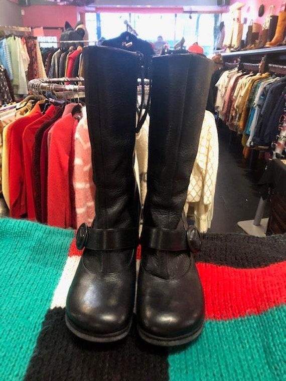 Black John Fluevog Boots