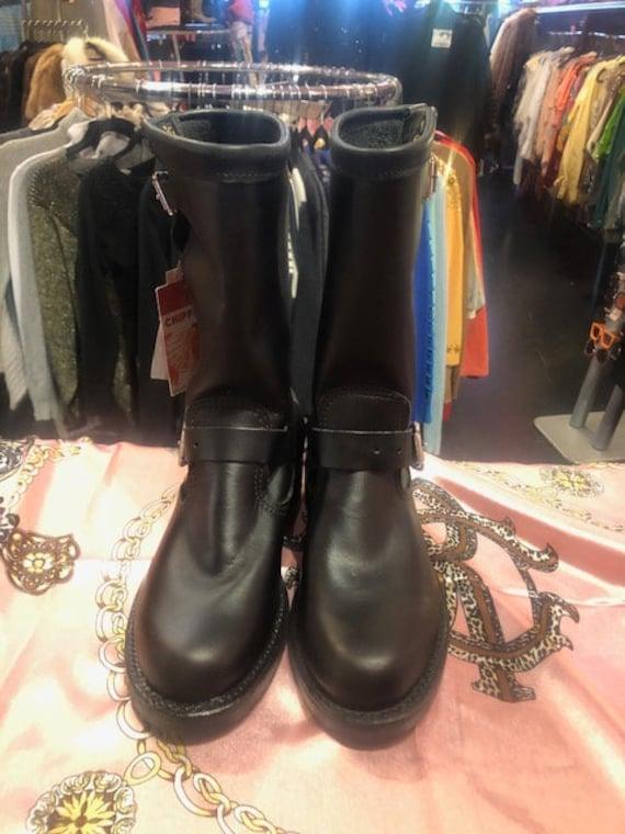 Chippewa Engineer Women Black Boots