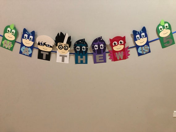 PJ Masks Bunting