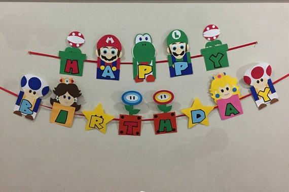 Mario Bros Birthday Mario Bros Party Mario Bros Decorations Etsy