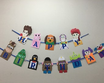 Toy story banner, toy story birthday banner, toy story party, toy story birthday, toy story, toy story decorations