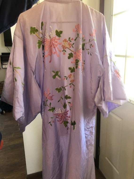 Vintage Made in Japan Japanese Geisha Kimono Robe