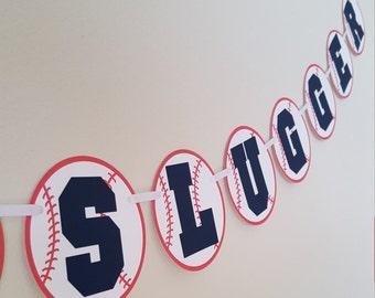 Lil' Slugger, Baseball Banner, Lil Slugger Banner, Baseball Baby Shower, Baseball Birthday, Baseball Party, Baseball Decorations
