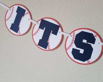 It's a Boy Baseball Banner, Baseball Baby Shower, Baseball Banner, Baseball Decorations, It's a Boy, Baseball