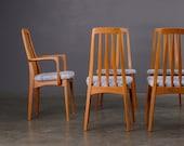 6 Mid Century Dining Chairs Svegards