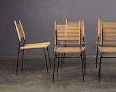 6 Paul McCobb Shovel Chairs Mid-Century Modern Dining Chairs