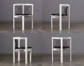 4 Niels Jorgen Haugesen String Chairs Memphis Danish Modern Postmodern