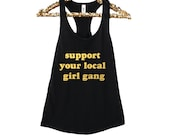 Girl Gang Tanks. Girl Pow...