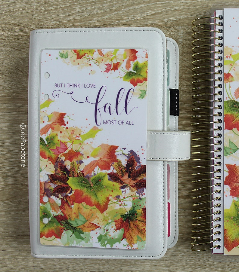 Fall/Autumn Planner DASHBOARD: But I Think I Love Fall image 0