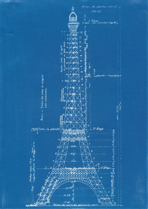 eiffel tower blueprints pdf download