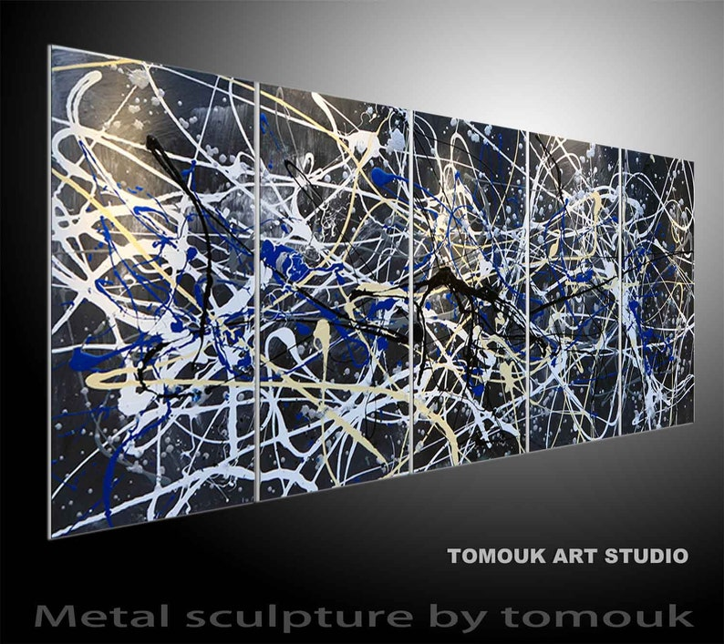 metal wall sculpture Contemporary Modern Wall Sculpture Abstract Metal Art  Wall Art Decor Abstract unique large metal wall art top seller
