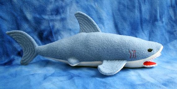 Hai-Softie - PDF-Schnittmuster - machen ein Stofftier für Ihre Shark-Lover
