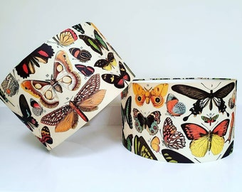 Vintage Butterfly Lampshade
