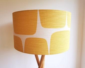 Scion Lohko Fabric Lampshade in Honey & Paper
