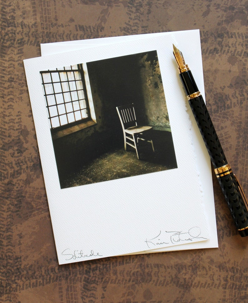 Photo Greeting Card  Solitude  Lost NYC  Any Occasion  image 0