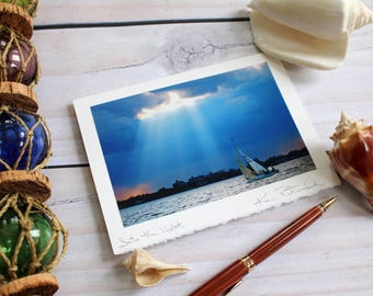 Into the Light - Analog Greeting Card - Photography - Travel - Any Occasion - Handmade