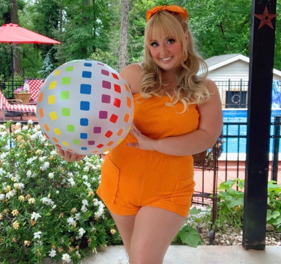 Vintage 1970s/early 1980s pinup roller disco queen
