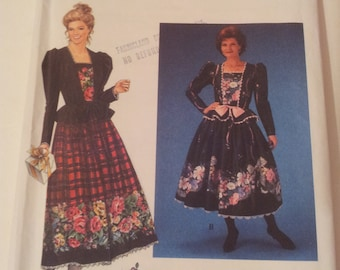 Simplicity Sewing Pattern 9187 Misses' dress in size 6, 8, 10