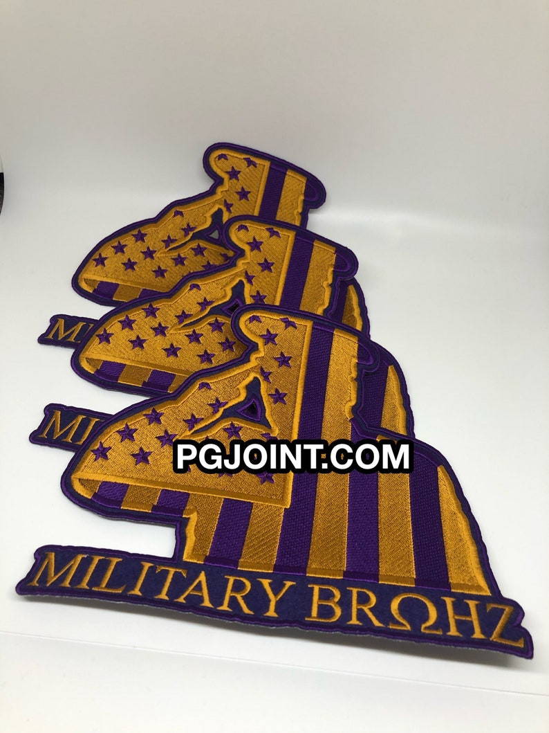 Military Bruhz big embroidered patch