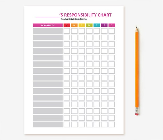 photograph about Printable Job Chart identify Printable Little ones Chore Chart - EDITABLE; Boy or girl Accountability Chart, Routines Chart, Gain Chart, Activity Chart, Assignments Chart for Little ones, Do it yourself