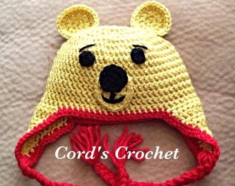 ba2871824 Winnie the Pooh Crochet Hat