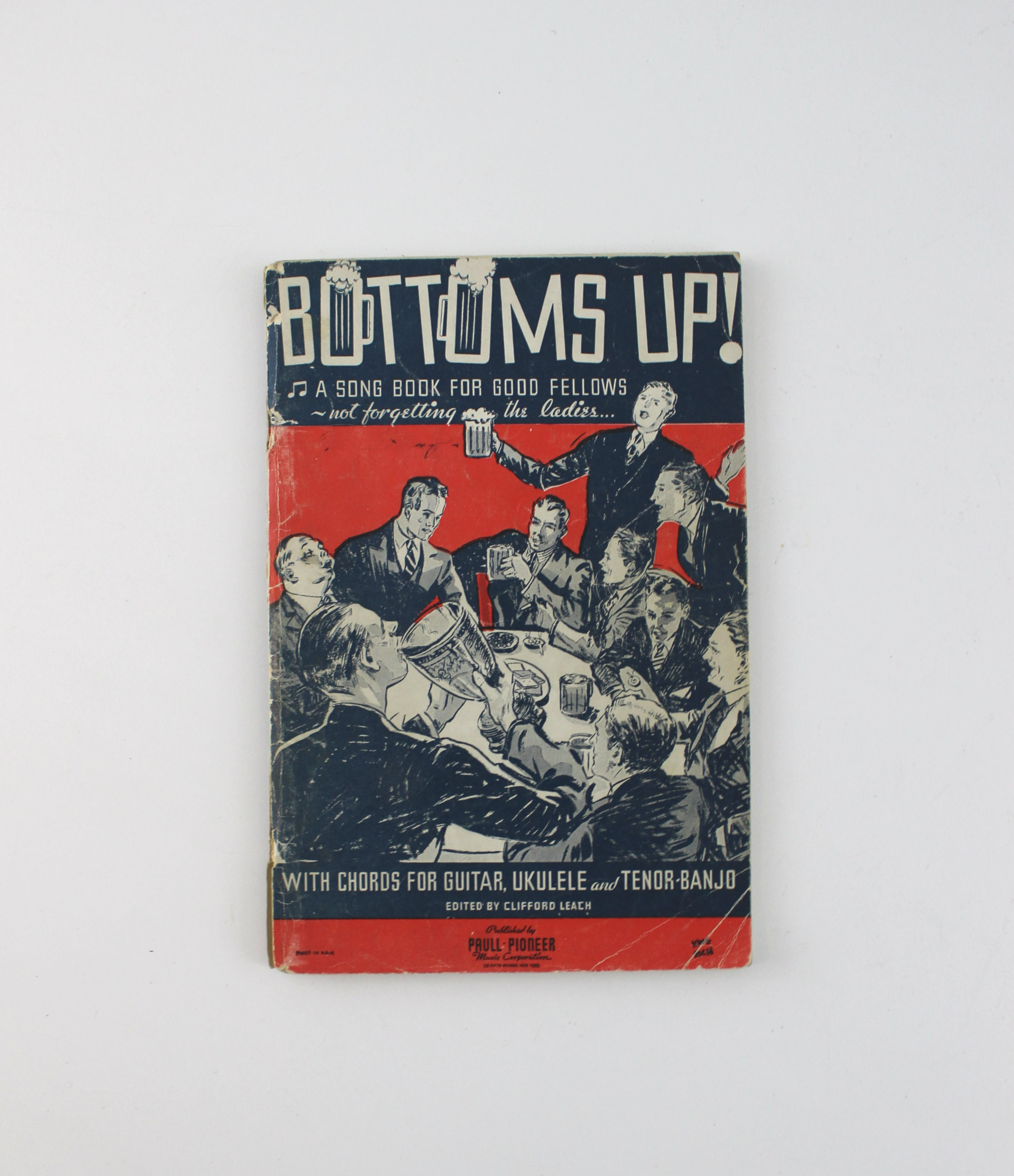 1930s Bottoms Up A Song Book For Good Fellows Sheet Music Etsy