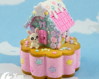 Candy House | Jewelry box | Sweet Lolita fashion | Sweet bunny