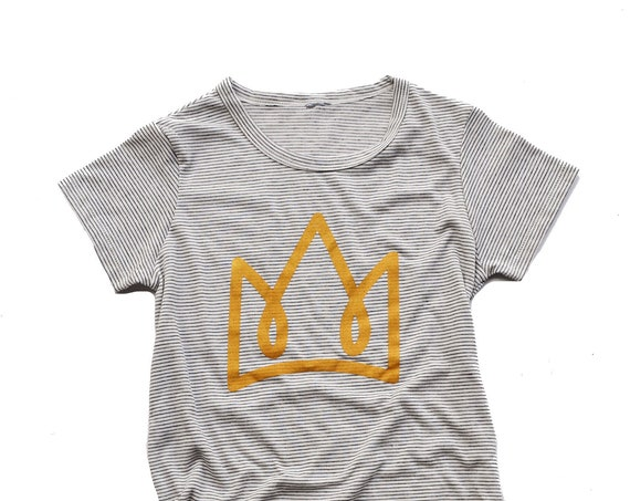 Crown Striped Tee
