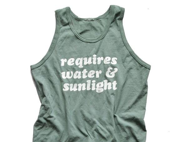 Water & Sunlight Tank